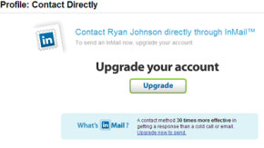 In order to use LinkedIn InMail,