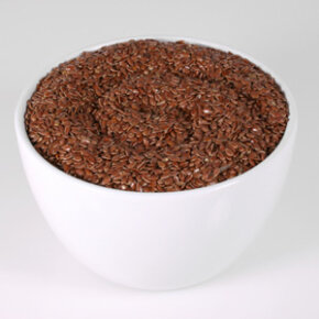 Flax seed is a good source of both soluble and insoluble fiber.