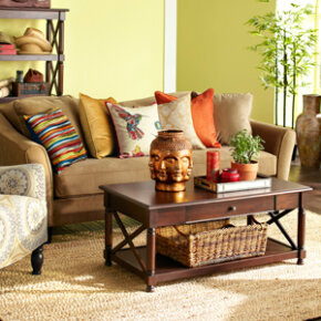 Let your interests inspire your living room!