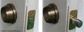 Lock picking allows people to open locks with only a few tools. See pictures of hidden home dangers.