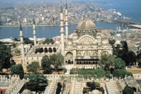 Istanbul, Turkey was once known as Constantinople and was part of the Ottoman Empire.