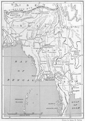 map, Bay of Bengal