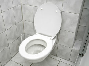 Today's low-flow toilets flush more effectively.