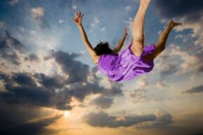 If you could fly, where would you go? Many lucid dreamers report dreams of flight.