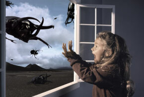 Begone, foul creatures of the night -- lucid dreaming may help nightmare sufferers battle their bad dreams.