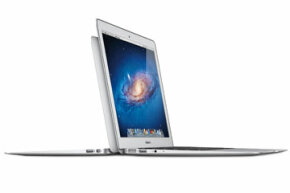 """When Apple first introduced the MacBook Air to the world at the beginning of 2008, the company touted its new laptop as """"the world's thinnest notebook."""""""