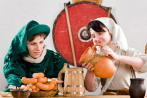Madrigal dinners follow the tradition of parties hosted by the ruling classes in Europe during the Middle Ages.