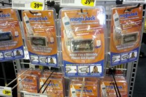 Consumers can purchase MagicJack devices online or in physical retail stores.