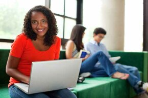 Not all college classes are taken in person.  There's a growing demand for online courses.