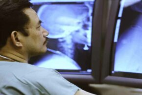 Many radiologists actually work from home, reading x-rays for a  company or as a personal business.