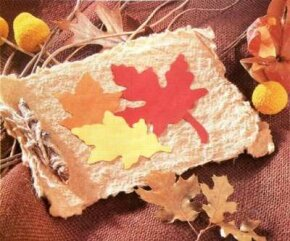 The Handmade Leaf and Twig Diary