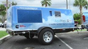 AquaMagic at a disaster relief site following Hurricane Katrina.