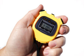 Imagine trying to time thousands of runners using a traditional stopwatch.