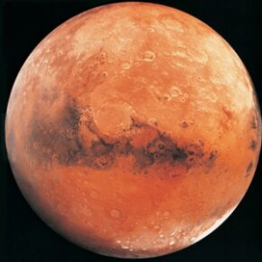 Our lovely planetary neighbor. See more pictures of Mars.