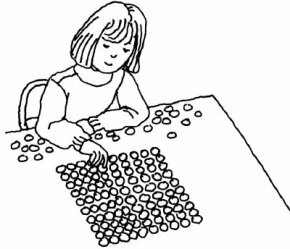 Make sure you have hundreds of pennies to complete your penny pyramid.