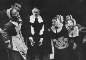 "Arthur Miller's play ""The Crucible""­ was a not-so-subtle criticism of McCarthyism."