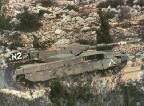 ©2007 Publications International, Ltd.                              Israeli Merkava 1 main battle tank proved far superior to the Soviet T-62.