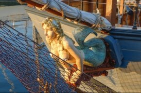 Mermaids have a complicated role in folklore — sometimes they're good luck, sometimes they're bad luck.