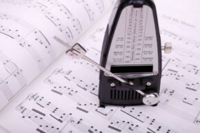 Need to keep better time? A metronome might help you out.