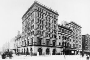 This undated image shows the Old Metropolitan Opera, on Broadway between 39th and 40th streets, in New York City.