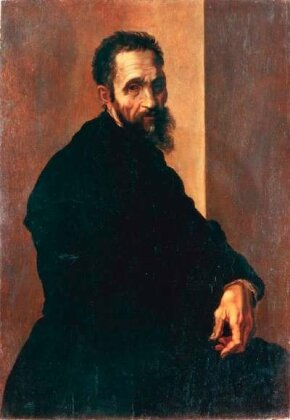 Portrait of Michelangelo (after 1535) by This portrait hints at Michelangelo's brooding temperament. See more pictures of works by Michelangelo.