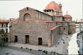 The Basilica di San Lorenzo is in Florence, Italy. Michelangelo worked on a new, splendid for the church from 1516 to 1520.