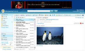 Microsoft's Windows Live suite offers several e-mail programs.