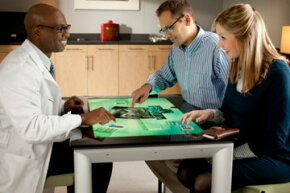 Microsoft Surface aims to change the way we collaborate across the table from each other.