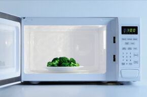 Do microwaves kill nutrients in food? They probably don't do any more damage than a conventional oven.