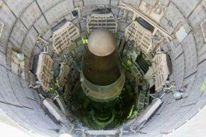 The Titan nuclear intercontinental ballistic missile in silo in Arizona.