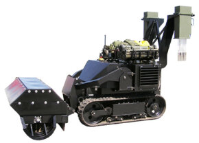 This version of the ACER robot clears anti-personnel landmines.