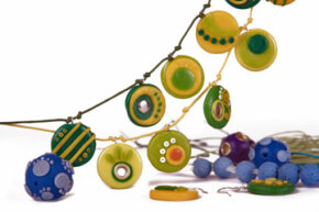 Polymer clay is readily available at craft stores and can be used to create colorful patterns -- making it possible for people to attempt their own millefiori at home.