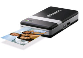 We go together: Polaroid is teaming with its spinoff company to make an instant, ink-free mobile photo printer.