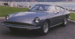 The two-seat 375S was the first effort of Swiss motor magnate Peter Monteverdi.