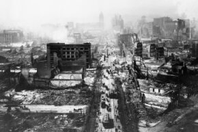 The Great San Francisco Earthquake caused $524 million in damage and killed 3,000 people.