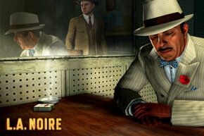 L.A. Noire is a dark crime game in which the player conducts a lot of interrogations. Interview subjects reveal important clues with their facial expressions.