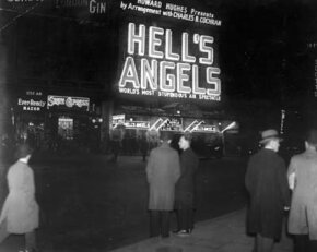 "Eccentric millionaire Howard Hughes directed ""Hell's Angels,"" which launched Jean Harlow's career. See more movie making pictures."
