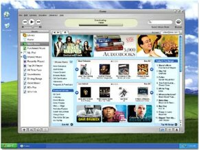 iTunes allows users to download music, audio books, television shows, movies, roadio broadcasts and podcasts.