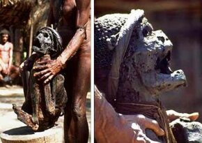 Mummy from New Guinea