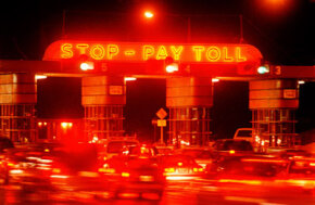 Investors who buy revenue bonds are sometimes repaid with the money collected from toll booths.