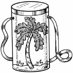 Caribbean bongo drum
