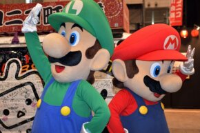 Mario may be slightly more famous, but Luigi is much beloved by fans of the Mario Bros. franchise.