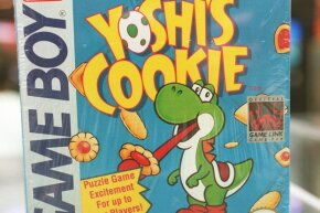 """Yoshi had his own Game Boy title in the early 2000s, but he didn't appear in """"Pokémon Red"""" or """"Pokémon Blue."""""""