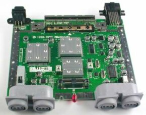 Nintendo 64 uses a customized chip system.