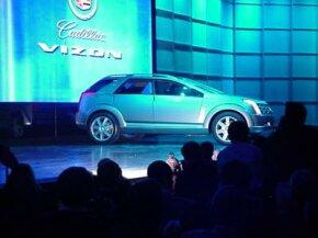 The Cadillac Vizon concept car