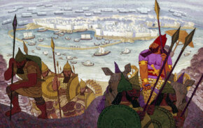 Phoenician sailors may have been responsible for naming Europe and Asia.
