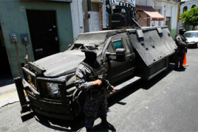 So-called narco tanks are heavily armored vehicles that have been showing up frequently in Mexico in recent days.