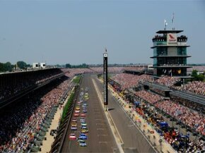 Indianapolis Motor Speedway is just one of three tracks on the NASCAR circuit not owned by SMI or ISC.