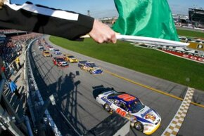 If you sponsor a race, you might even be able to talk NASCAR into letting you wave the green flag.