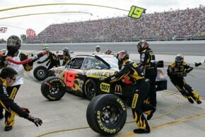 NASCAR Image Gallery High-speed cars need special tires for better handling and safety. See more NASCAR pictures.